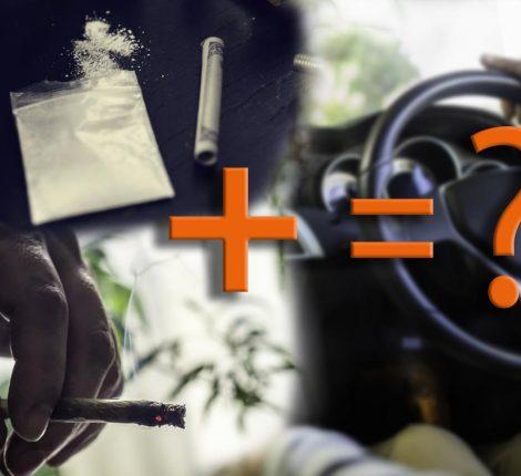 Darf man nach Konsum von harten oder weichen Drogen Autofahren?