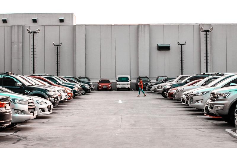 Parkplatz, Streit um einen Parkplatz